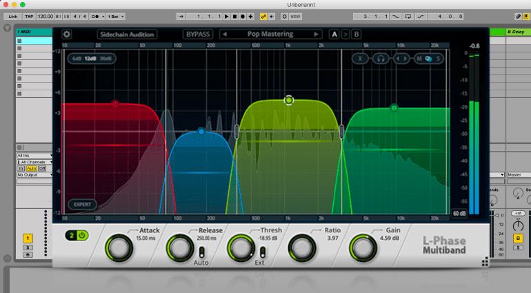 L-Phase Serie Mix- und Mastering Plug-ins von Cakewalk