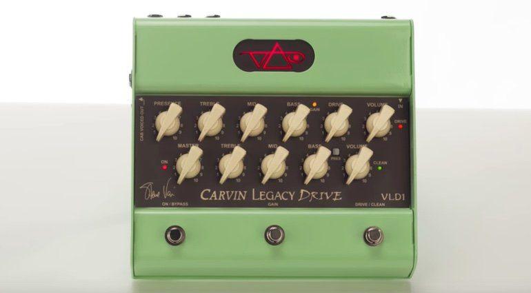 Carvin Legacy Drive Pedal Effekt Front