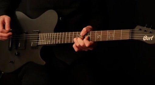 Cort Manson M-Jet E-Gitarre