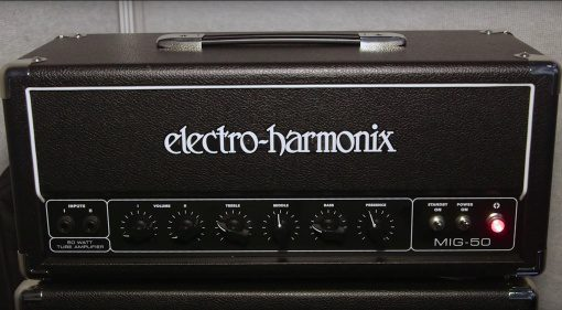 Electro Harmonix EHX MIG 50 Topteil Verstaerker Topteil Front Sovtek