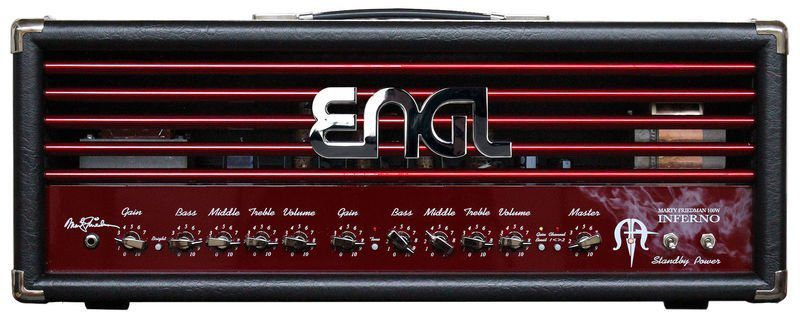 ENGL Inferno Marty Friedman Signature Topteil Amp Front