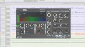Exponential Audio R4 GUI Hall Reverb Plug-in Pro Tools