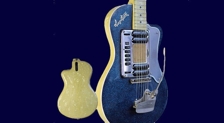 Hagstrom Deluxe Model 90 Front Back Kurt Cobain eBay Titel