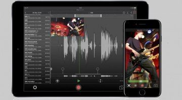 IK Multimedia iRig Recorder 3 iOS App iPhone iPad GUI