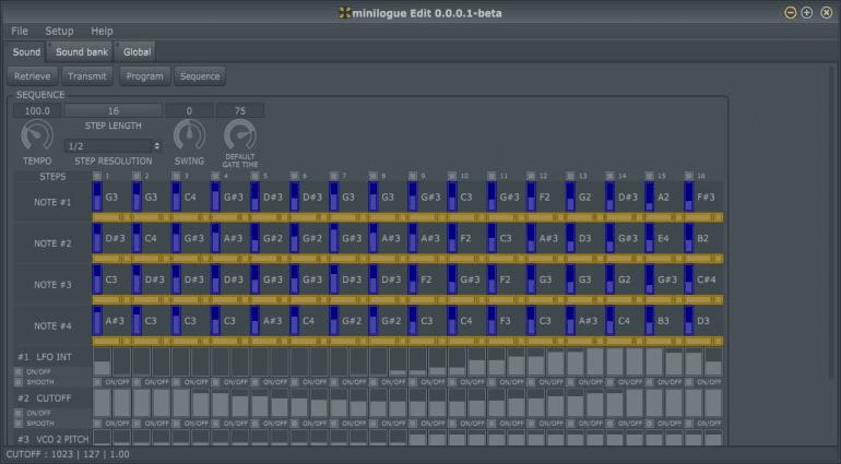 minilogueEdit - Beta-Tester für Freeware Editor Plug-in des Korg Minilogue gesucht!