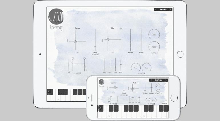 Klevgrand Baervaag - einfacher FM-Synthesizer für iOS und als VST-Plug-in