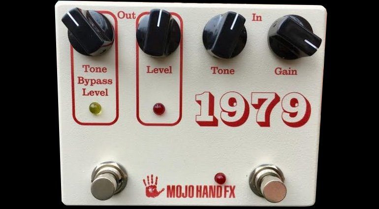 Mojo Hand FX 1979 Fuzz Pedal Front
