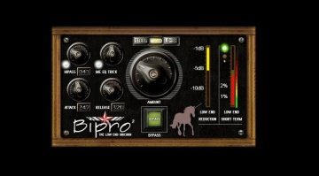 Noisebud Bipro 2 Low End Kompressor Plug-in VST GUI Unicorn