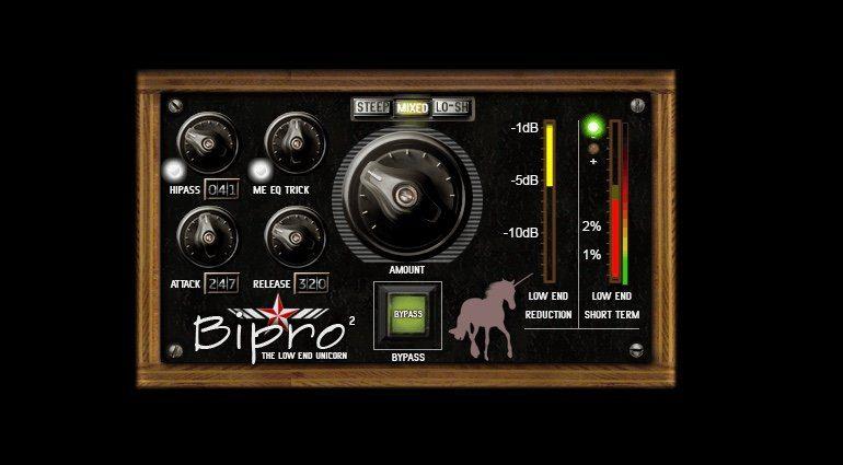 Noisebud Bipro 2 Low End Kompressor Plug-in VST GUI Unicorn