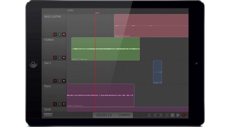 Orsilus iPad DAW Editor