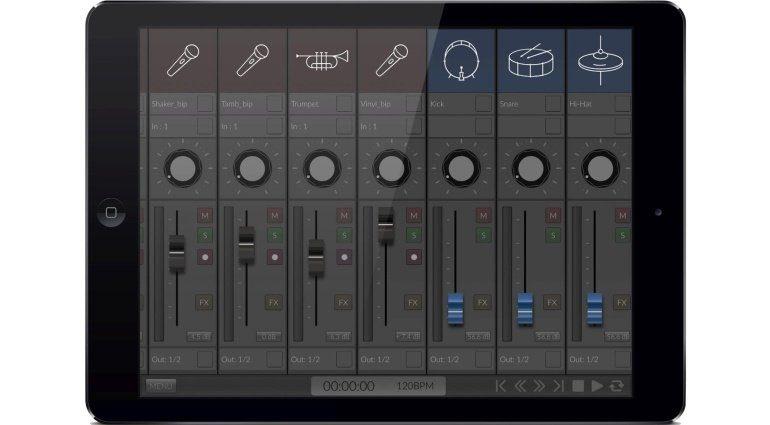 Orsilus iPad DAW Standard Mixer