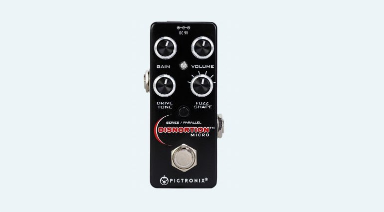 Pigtronix Disnortion Micro Effekt Pedal Fuzz Overdrive Front
