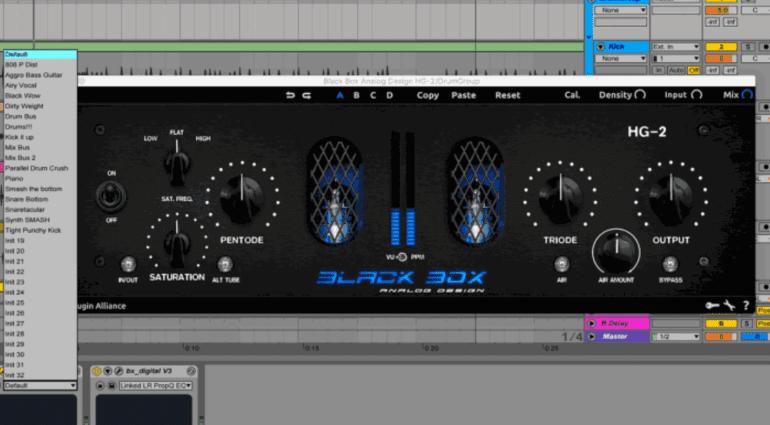 Plugin Alliance Black Box Analog Design HG-2 - eine großartige Hardware im Plug-in Format