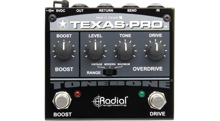 Radial Engineering Texas Pro Pedal Front