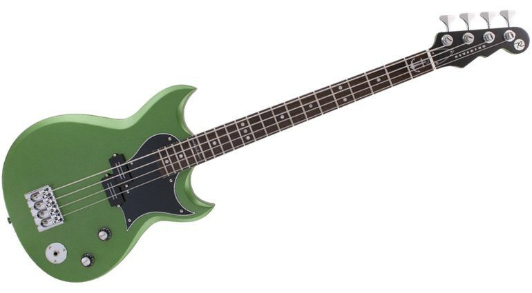 Reverend Mike Watt Wattplower Signature Sensei E-Bass Front Satin Emerald Green