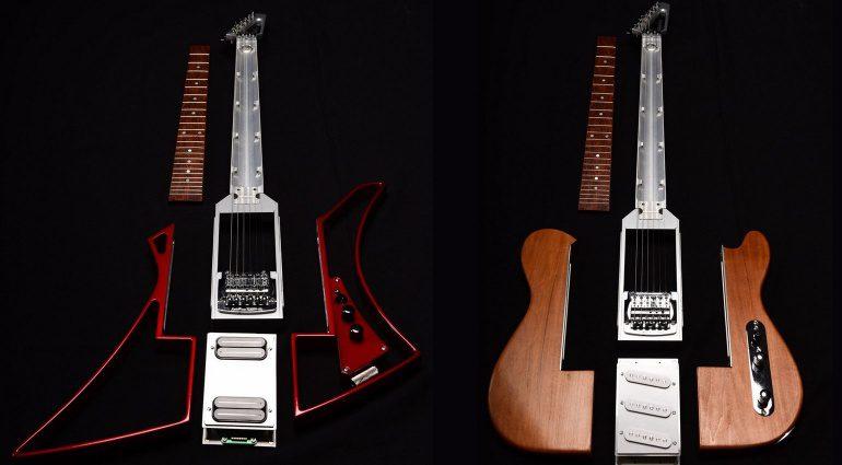 Somnium Guitars Modular E-Gitarre Telecaster Explorer Titel