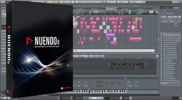 Steinberg Nuendo 8 DAW Editor Sampler Track Update Pack Shot