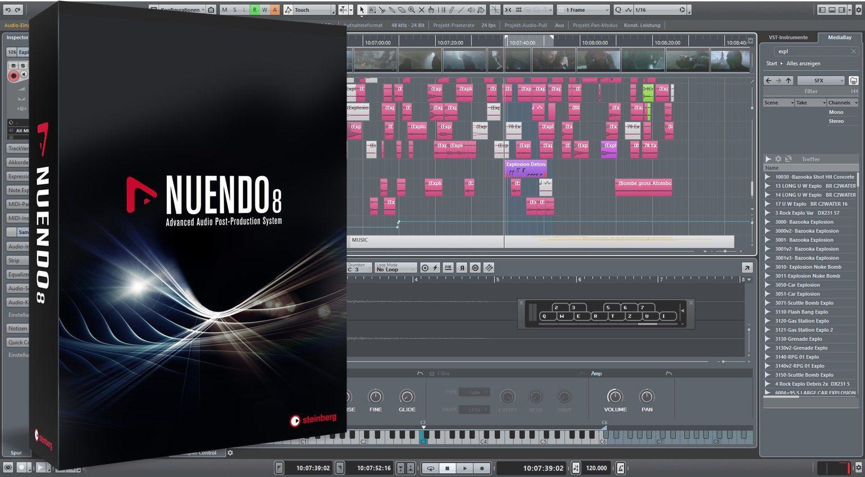 Nuendo 8 Legt Schwerpunkt Auf Sound Design 5