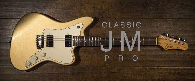Suhr Classic JM Pro Offset E-Gitarre Front Gold