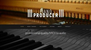 Piano Producer - das perfekte Piano-Solo oder wie wird aus MIDI eine Audiospur?
