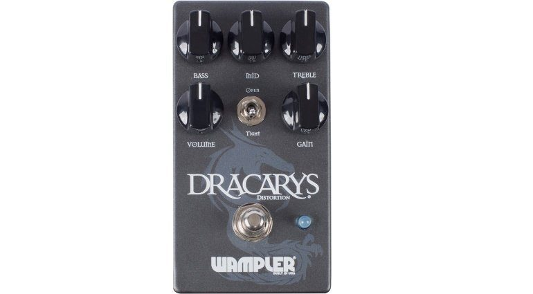 Wampler Dracarys Distortion High Gain Pedal Front