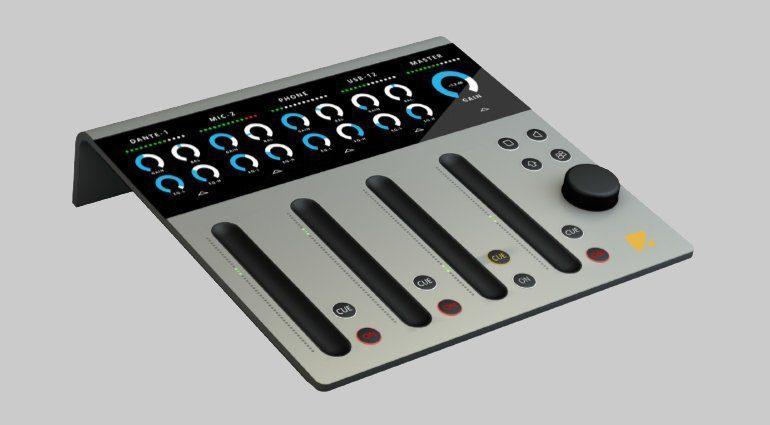 Yellowtech intellimix 2 - innovativer Touch-Mixer mit Audiointerface
