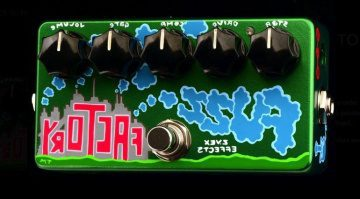 ZVex Reverse Fuzz Factory 111 Spam Can fuzz pedal