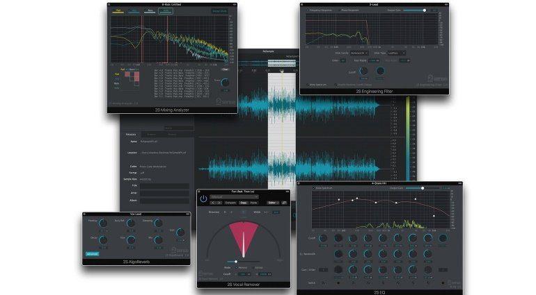 2nd Sense Audio Analyzer ReSample Plug-ins Teaser