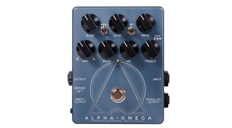 Preamp oder Zerrer? Der Darkglass Alpha Omega für Bass ist beides ...