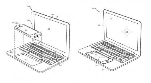 Apple MacBook iPhone Dock Patent PDF Teaser