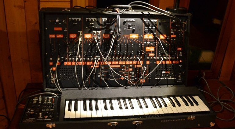 ARP 2600 Semi Modular Synth Front
