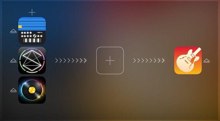 Audiobus 2 Main Screen iOS App