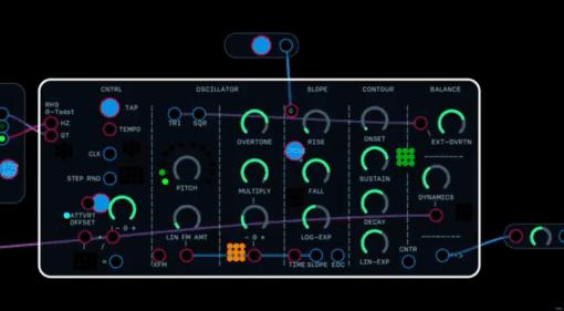 Make Noise 0-Coast Klon auf Audulus Basis für iOS und macOS