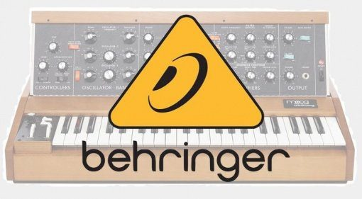 Behringer Minimoog Model D Synthesizer Teaser