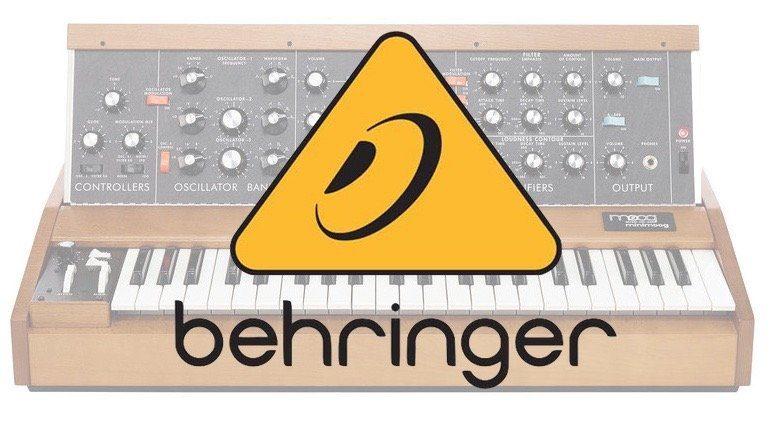 Behringer Minimoog Model D Synthesizer