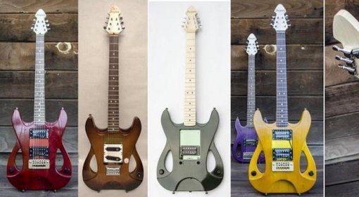 bergstok gitarren design teaser