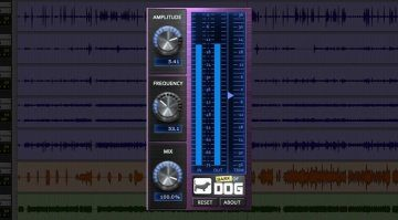 Boz digital Labs Bark Of Dog Freeware High Pass Resonanz Filter Plug-in GUI Pro Tools