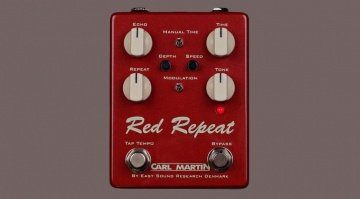 Carl Martin Red Repeat Delay Pedal Front Teaser