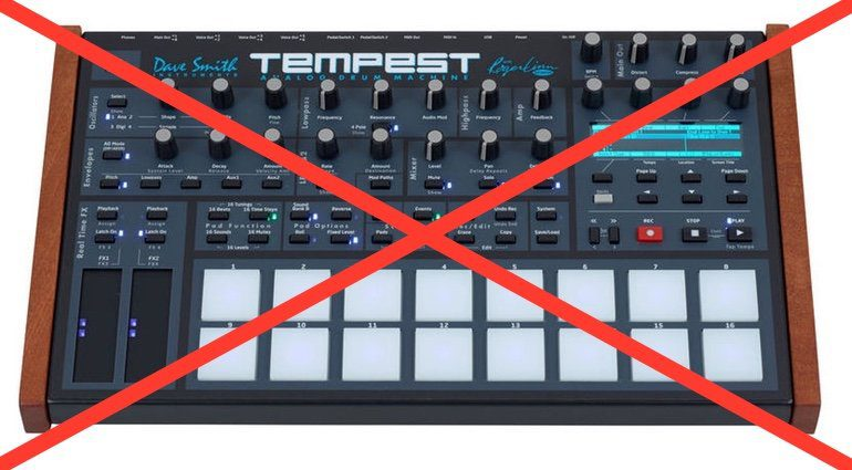 Dave Smith Instruments Tempest Teaser
