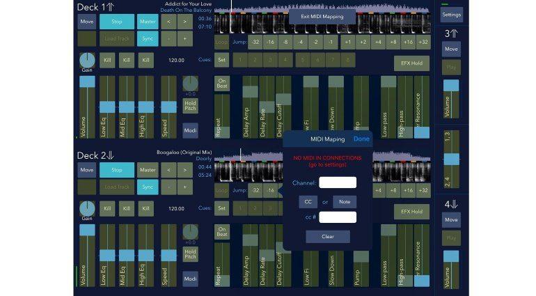DJDJ - der MIDI-Mapper