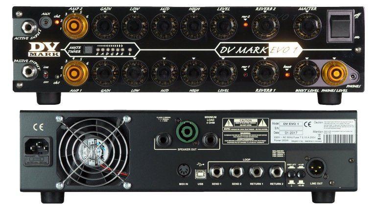 DV Mark Evo-1 Topteil Amp Front Back Teaser