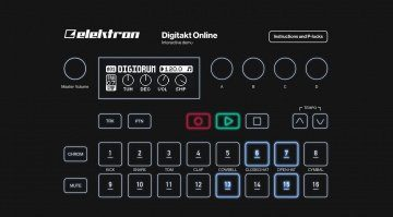 elektron digitakt online demo