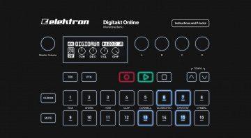 elektron digitakt online demo