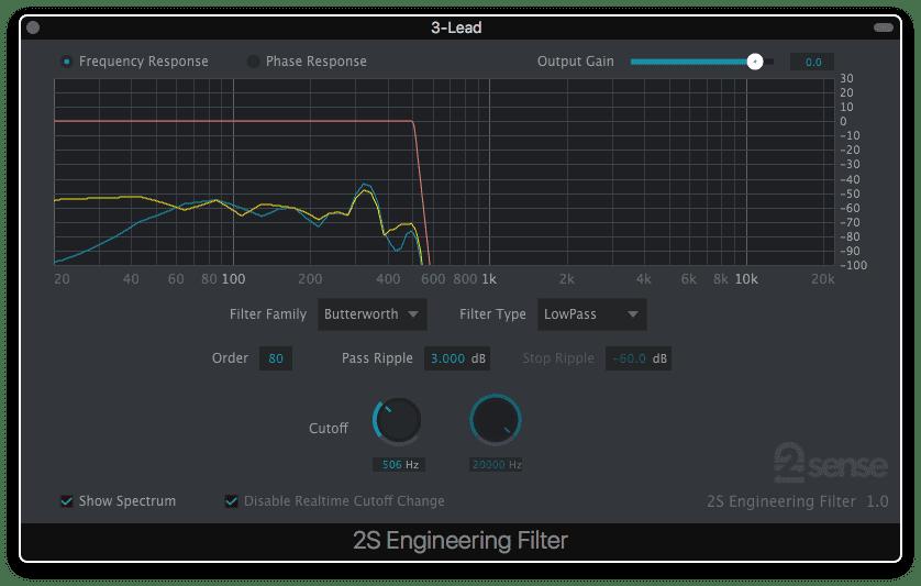 2nd Sense Audio EngineeringFilter