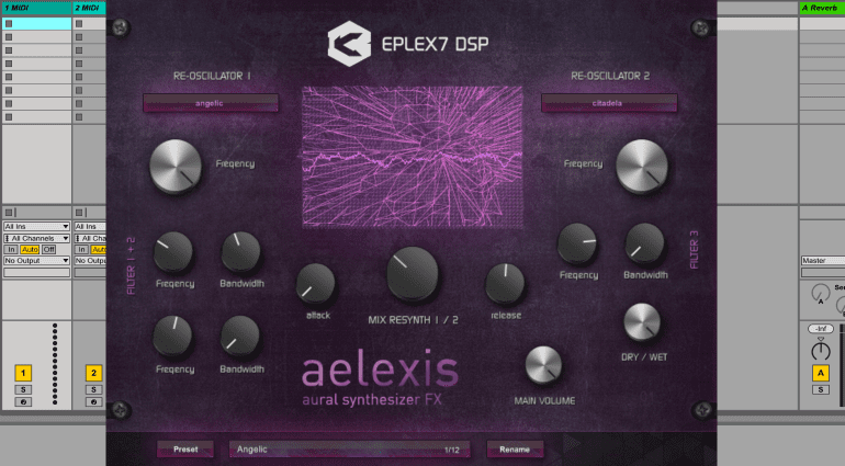 Eplex7 DSP Aelexis - Aural Vocoding Synthesizer VST Plug-in