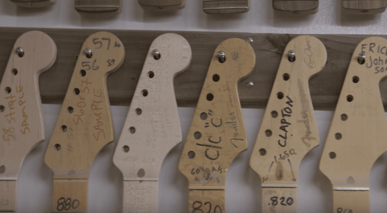 Fender Custom Shop 30 Year Documentary Founders Guitars