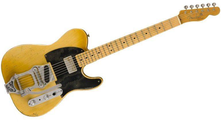 Fender Telecaster Custom Shop Bob Bain Front