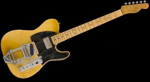 Fender Telecaster Custom Shop Bob Bain Front Teaser