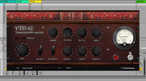 G-Sonique VTD-42 - das virtuelle psychedelische Vintage Tape Delay