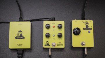 Lightning Boy Audio Lightning Boy II Modular Distortion Tube Pedal Front